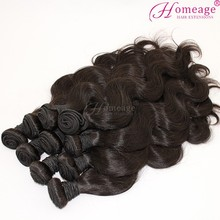 Homeage Hot Selling cheap virgin Brazilian Body Wave your own brand hair