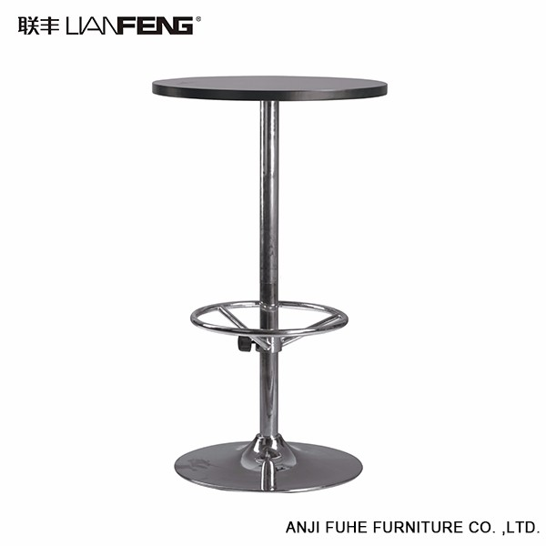 Top quality cheap round bar table