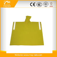 Promotional Disposable Cheap Long Pvc Rain Poncho