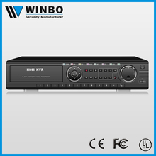 Professional ONVIF H.264 9 channel 720p NVR with VGA/HDMI/BNC Output