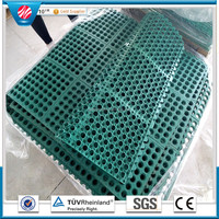 Interlocking Rubber Mat Kitchen Anti Slip