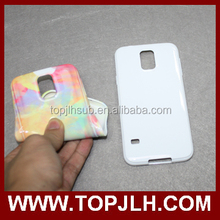 TPU Sublimation 3D Flexible phone case for samsung s5