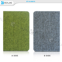 Two-sides use double sides canvas tablet pc for ipad air 1 cover