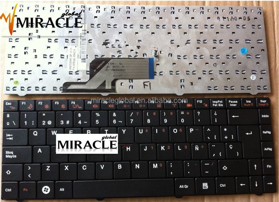 Teclado para laptop for VIT M2400 NEGRO V092328MK1 en spanish keyboard V092328MK1
