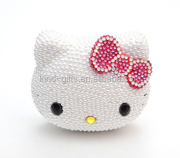 8000mAh Hello Kitty Mobile External Power Bank Battery USB Charger For iPhone 5