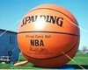Giant inflatable advertising replica/inflatable basketball F1066
