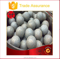 125mm high quality steel grinding ball for gold mines