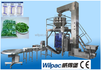 Frozen food/meat ball/frozen french fries packing machine