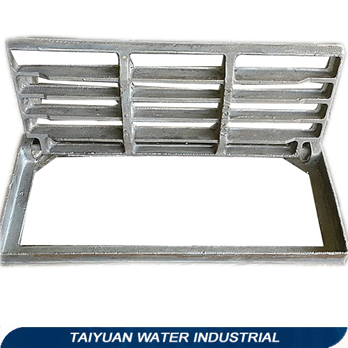 Industrial plastic drainage grating gully trap