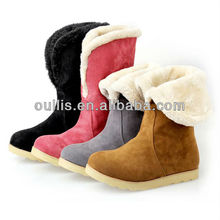 2013 snow boots fashion flats hot sale style for women XW270