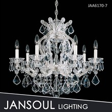 High quality wholesale price 6 lights Maria theresa crystal chandelier for decoration