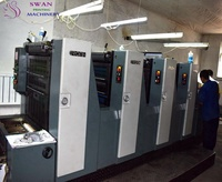 CMYK 4 color used printing machines for sale