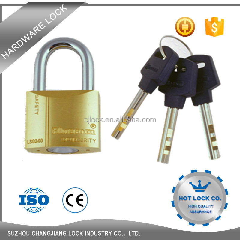 High quality small stainless steel padlock double key padlock