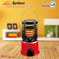 360 range of heating electric room heater