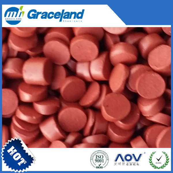 best selling chemical products Red Phosphorus Flame Retardant Masterbatch for PET & PBT