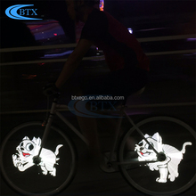 Hot selling mini bicycle light led bike light bike accessories bicycle 416LED wheel light