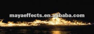 special effects Fire on the Water