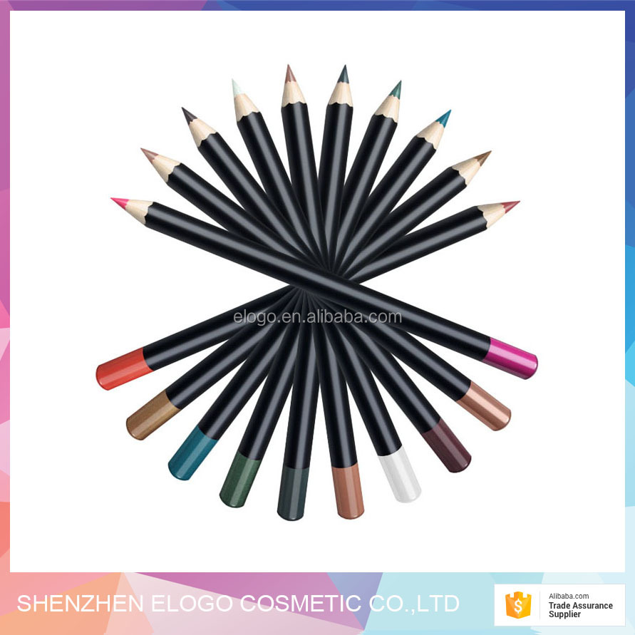High quality smoothly and Long Lasting Cosmeticslip use matte Multi-colored plastic material lip pencil lip liner