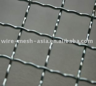 low carbon steel&stainless steel coffee tray Crimped Wire Mesh in hebei