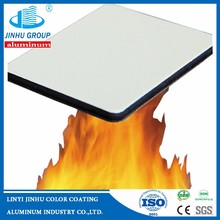Fireproof Function and PVDF Coated Surface Treatment Noncombusitible Aluminum Composite Panel price competitve