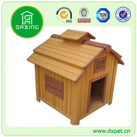 beautiful new wooden dog house DXDH017