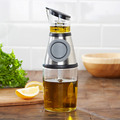 Press and Measure Oil and Vinegar Dispenser