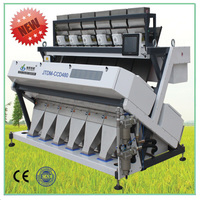 Good service CCD color sorter machinery with Led Light pumpkin seed processing machine