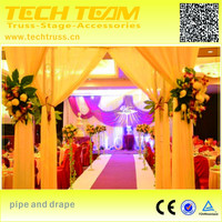 wedding backdrop stand/Wedding Backdrop Decor Pipe And Drape