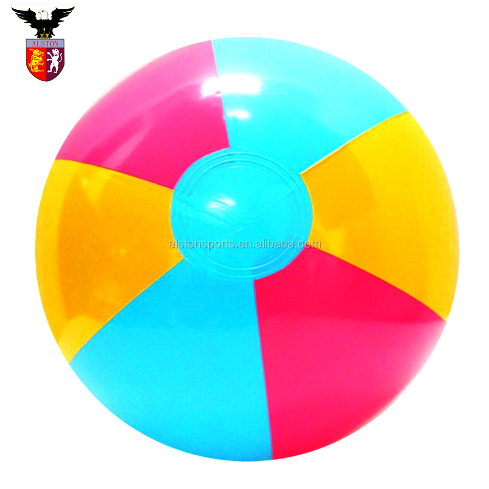 Christmas Holiday game PVC Custom Logo Printing Water Toy Inflatable Beach Ball