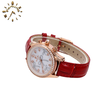 2017 New Wholesale Cheap Shell Powder ladies quartz select watch
