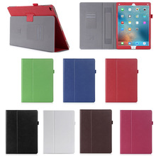 Most Luxury Genuine Leather Flip Case Cover with Stand Function for iPad Pro, For iPad Pro Case