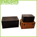 hot selling antique cheap decorative wooden storage trunks
