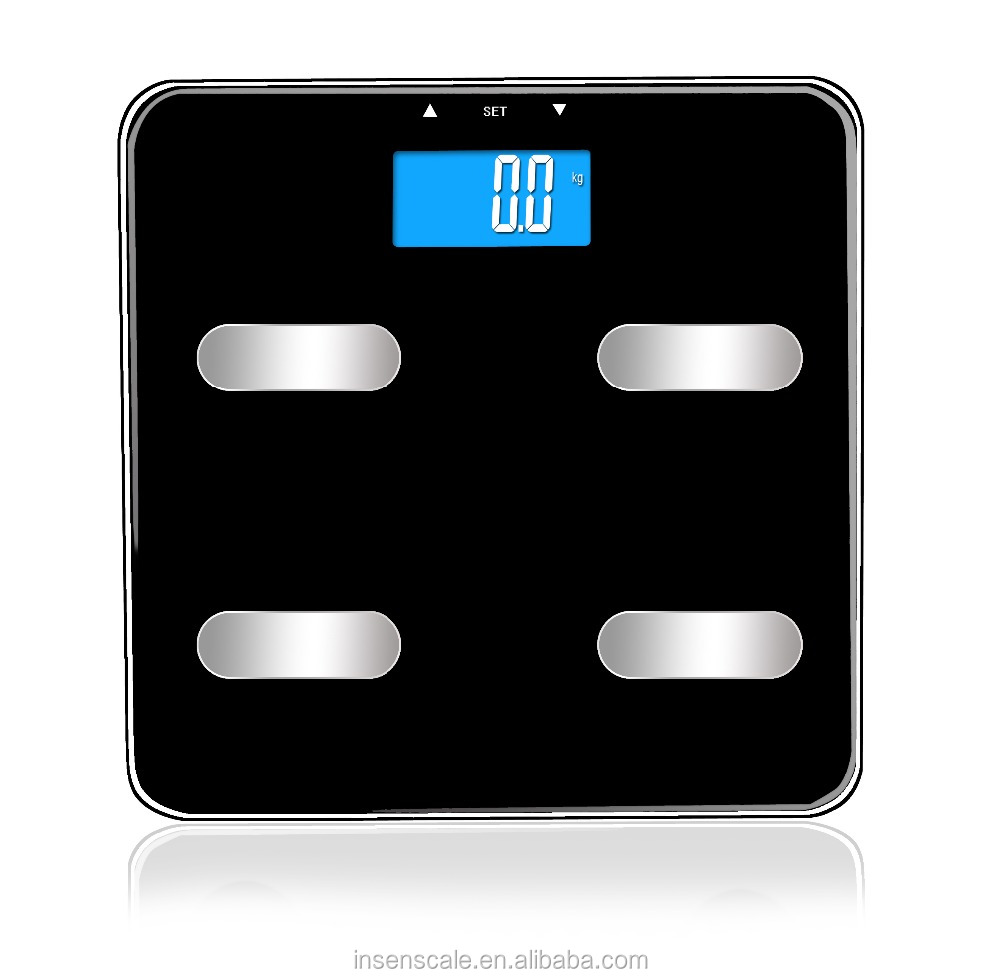 Body Composition Monitor Weighing Scales 4 Users Body Fat %