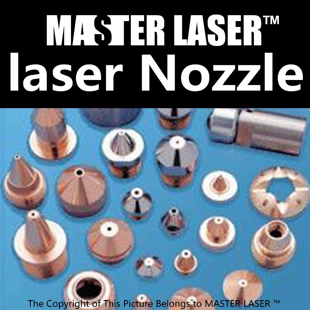Laser Gas Nozzle for CO2 Cutting Machine Diameter 1.0mm CO2 Laser Head CO2 Laser Nozzle