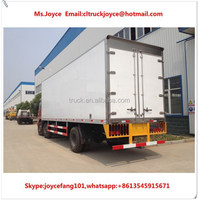 Meat Transport Refrigerated Truck Body,20 M3 Fish Chiller For Sale,20 Cbm Refrigrator Freezer