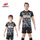 Profession Design For Your Owm Football  Team Jersey Fashion High Quality Quick Dry Soccer Uniform Set