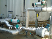removable valve thermal insulation jacket , pneumatic ball valve jacket, valve insulation jacket