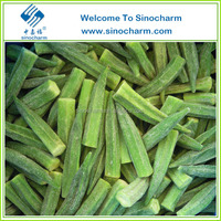 Hot Selling Frozen Okra Prices