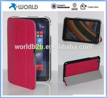 Slim Smart Cover Stand Leather Case for Toshiba WT8 with Magnetic Closure
