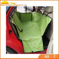 Wholesales colorfull folding car seat cover for pet