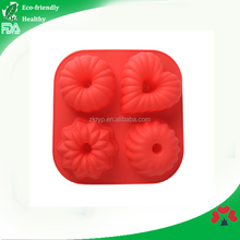different shape silicone baking molds New design 4 cavities silicone baking mold