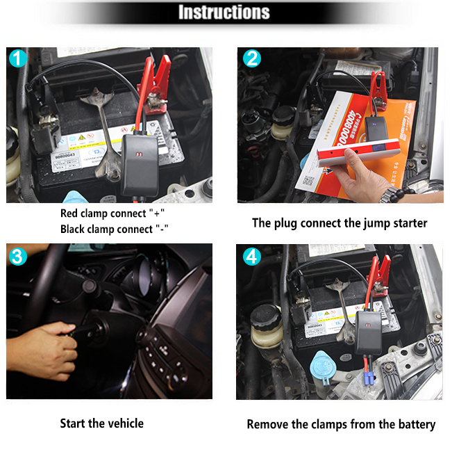 12V Super Waterproof start jump starter ,600amps portable jump starter for starting cars,professional car jump starter factory