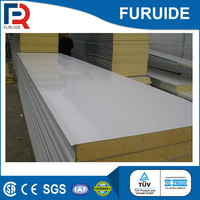 Prefab house wall pu sandwich panel suppliers in china