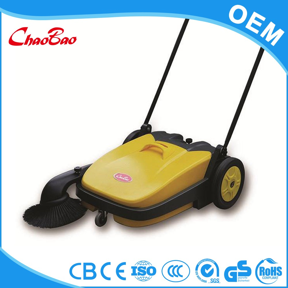 Beautiful hand push home sweeper sweeping machine