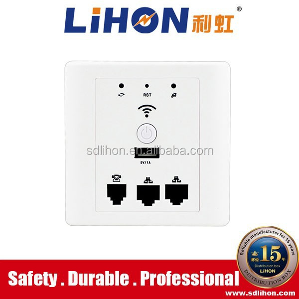 indoor wifi access point with RJ45,RJ11,USB port