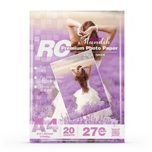 premium 270G glossy/satin/woven/rough matte RC photo paper(GSB-RCM51)
