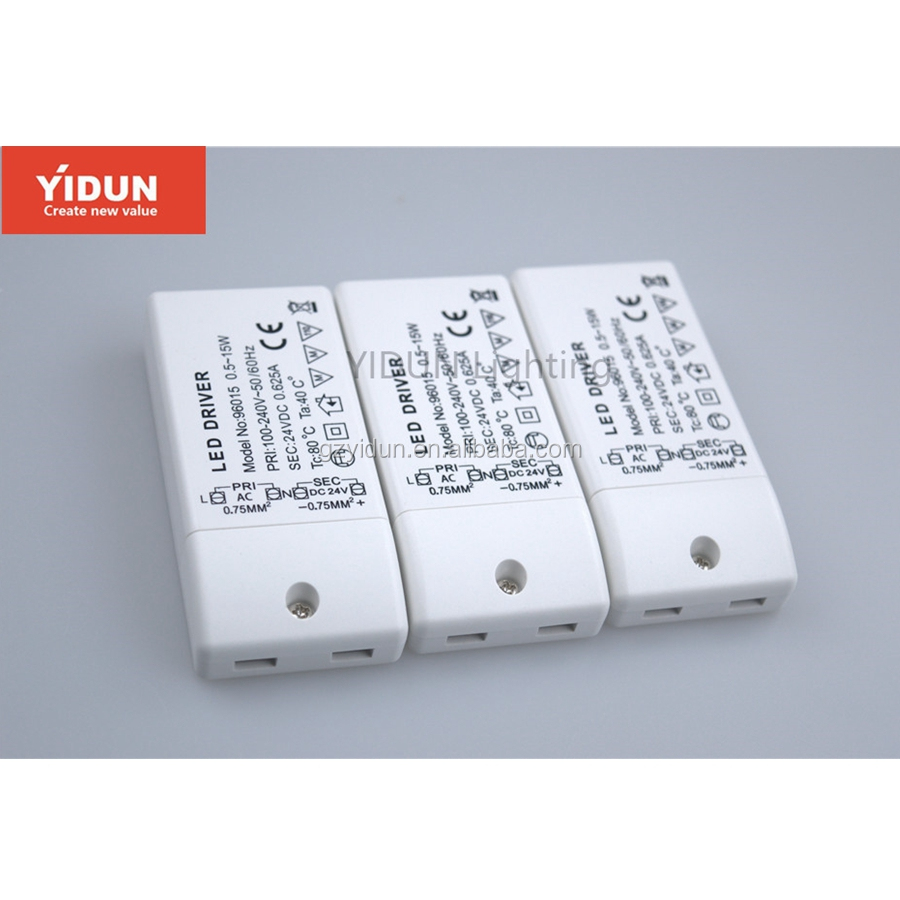 YIDUN Lighting Dimmable LED Driver LED power supply 15W 18W 20W 24w led lighting transformer downlight spotlight driver