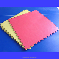 Plain interlocking PVC plastic tiles garage floor
