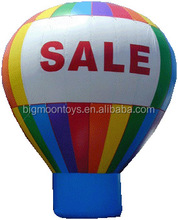 5m Advertising cold Air inflatable Oxford huge roof Ground Balloon