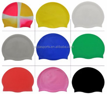 High quality Flexible water proof silicone swimcap/swimming cap